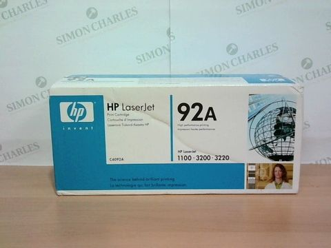 Lot 1363 SEALED HP LASERJET 92A PRINT CARTRIDGE