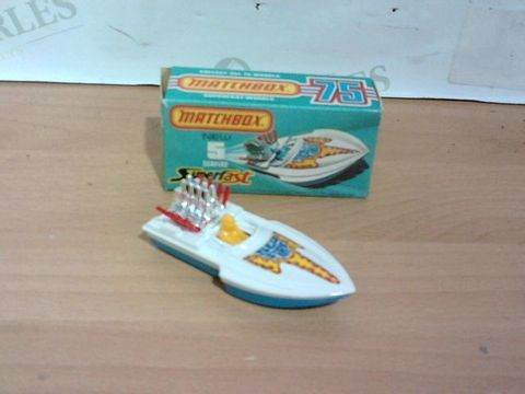 Lot 1016 EXCELLENT CONDITION MATCHBOX NEW SEAFIRE 5 SUPERFAST BOAT