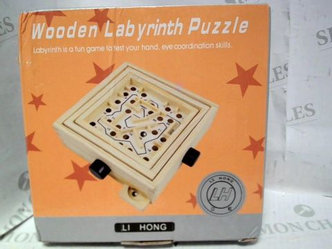 Lot 1102 WOODEN LABYRINTH PUZZLE