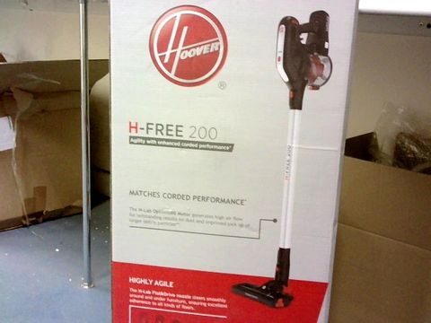 Lot 1028 HOOVER H-FREE 200 3IN1 CORDLESS STICK VACUUM CLEANER, HF222RH, LIGHTWEIGHT, POWERFUL, 22V, AGILE, SILVER