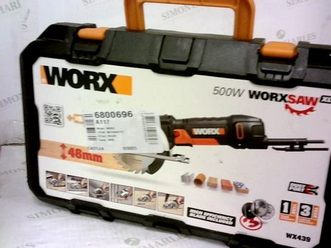 Lot 417 WORX WX439 500W 120MM WORXSAW COMPACT CIRCULAR SAW