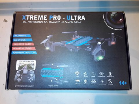 Lot 3071 XTREME PRO-ULTRA HIGH PERFORMANCE HD CAMERA DRONE