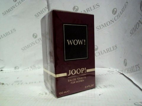 Lot 5049 BRAND NEW AND SEALED JOOP! WOW EDT 100ML