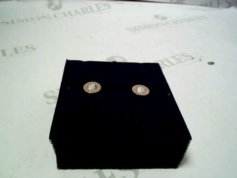 Lot 4018 TOMMY HILFIGER LADIES ROSE GOLD IP STAINLESS STEEL EARRINGS RRP £52.00