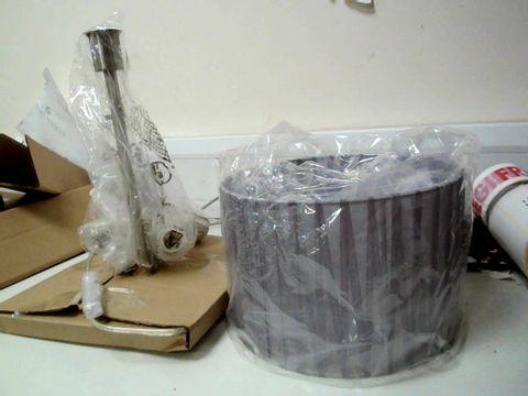 Lot 274 ARABELLA TABLE LAMP GREY  RRP £44.99