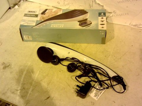Lot 11845 WAHL MASSAGER DEEP TISSUE MASSAGER
