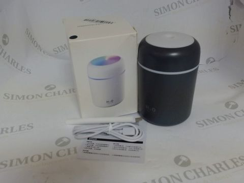 Lot 3537 H2O USB COLOURFUL HUMIDIFIER GREY