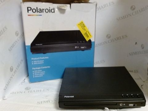 Lot 7175 POLAROID HDMI DVD COMPACT PLAYER