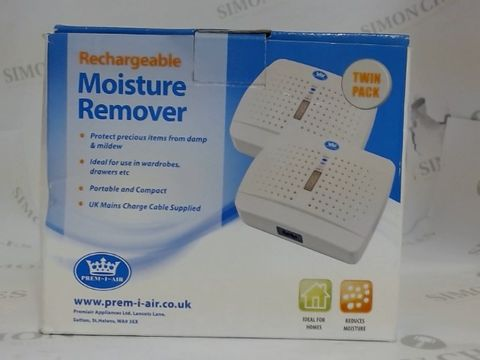Lot 3626 PREM-I-AIR RECHARGEABLE MOISTURE REMOVER