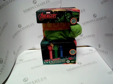 Lot 9233 MARVEL AVENGERS HULK SMASH WASH MITT AND BATH SOAP