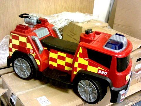 Lot 7223 EVO ELECTRONIC 6V FIRE ENGINE RRP £100.99
