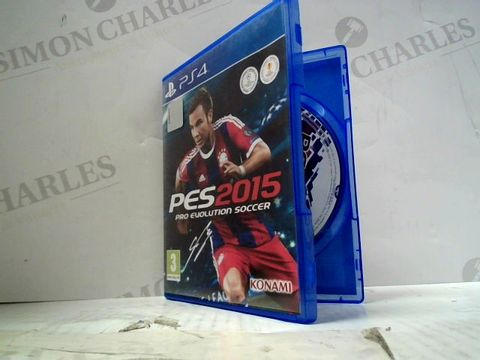 Lot 51 PES 2015 PLAYSTATION 4 GAME