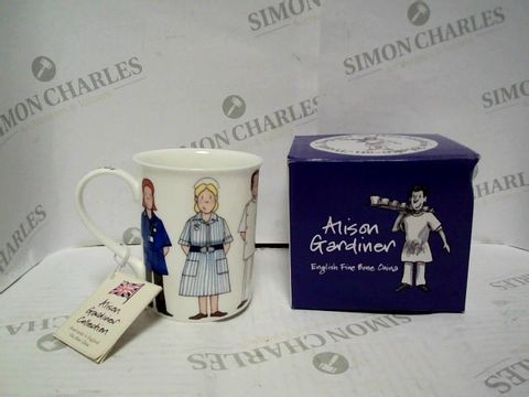 Lot 7361 ALISON GARDINER ENGLISH FINE BONE CHINA - FLORENCE NIGHTINGALE MUG