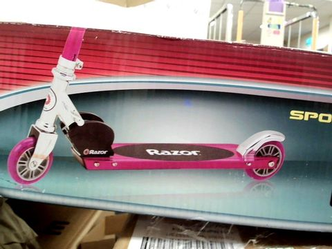 Lot 7431 RAZOR SPORTS SCOOTER - PINK RRP £49.99