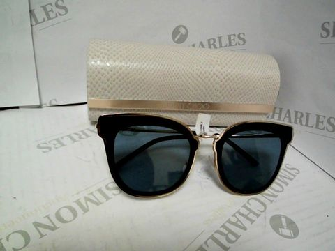 Lot 9060 JIMMY CHOO NILE SUNGLASSES - GOLD/BLUE RRP £460.00