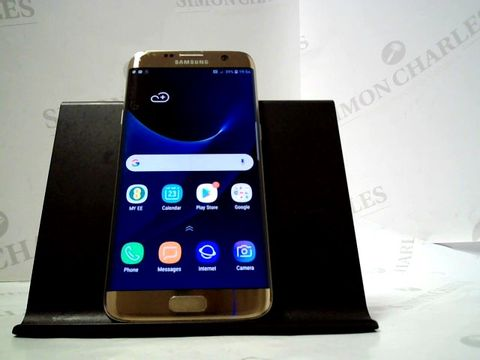 Lot 4871 SASMUNG GALAXY S7 EDGE 32GB ANDROID SMARTPHONE