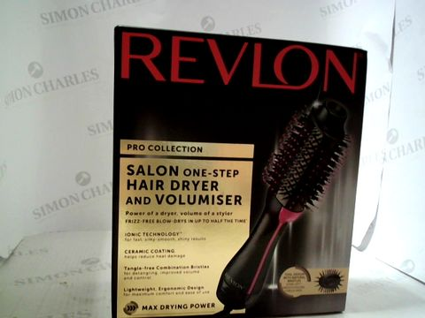 Lot 3352 REVLON PRO COLLECTION SALON ONE-STEP HAIR DRYER AND VOLUMISER