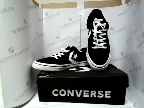 Lot 13058 BOXED PAIR OF DESIGNER CONVERSE - UK SIZE 9.5