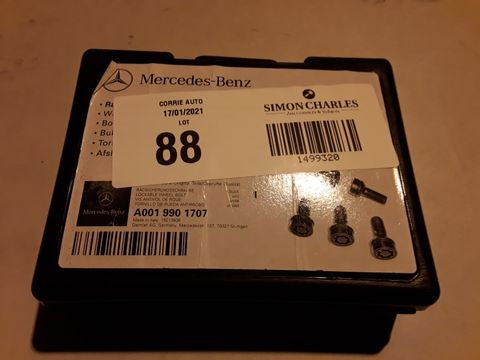 Lot 88 SET OF MERCEDES BENZ LOCKING WHEEL STUDS