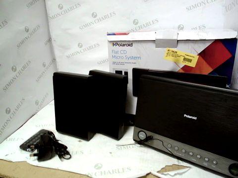 Lot 12062 POLAROID FLAT CD MICRO SYSTEM