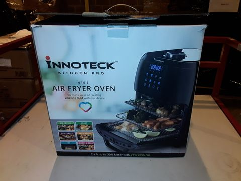 Lot 3046 BOXED INNOTECK KITCH PRO 1800W 12 LITRE AIR FRYER
