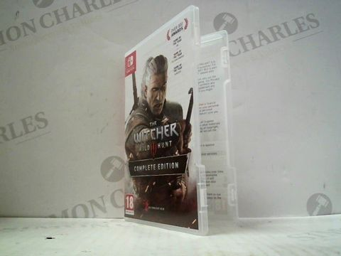 Lot 3012 THE WITCHER 3: WILD HUNT COMPLETE EDITION NINTENDO SWITCH GAME