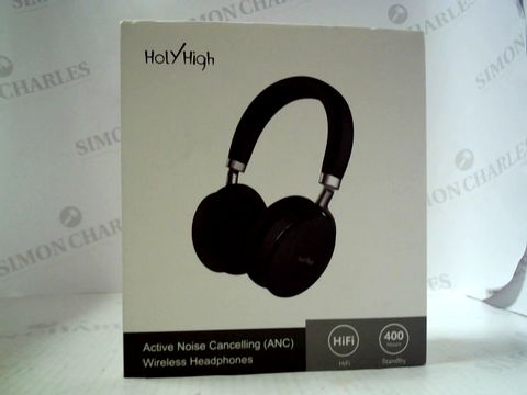 Lot 6267 HOLY HIGH ACTIVE NOISE CANCELLING WIRELESS HEADPHONES