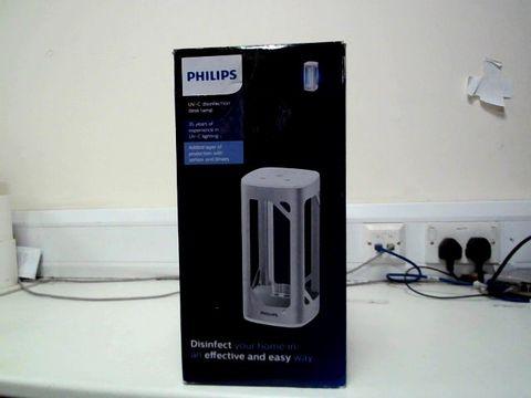 Lot 260 PHILIPS UV-C DISINFECTION DESK LAMP