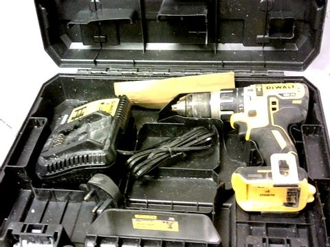 Lot 8107 DEWALT DCD796P1 XR BRUSHLESS COMPACT LITHIUM-ION COMBI DRILL