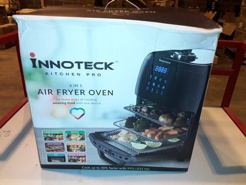 Lot 3285 BOXED INNOTECK KITCH PRO 1800W 12 LITRE AIR FRYER