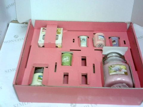 Lot 508 YANKEE THE LAST PARADISE WOW GIFTSET RRP £62.99