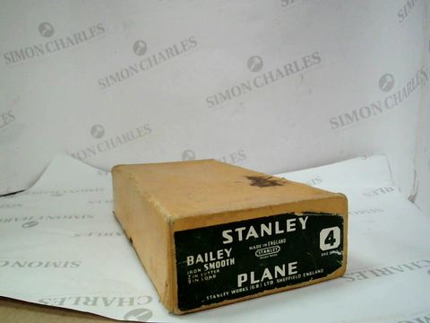 Lot 12737 STANLEY BAILEY SMOOTH PLANE