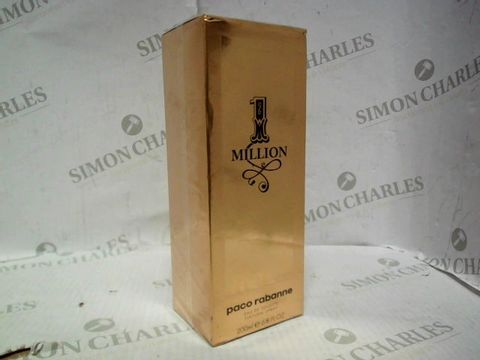 Lot 5077 BRAND NEW AND SEALED PACO RABANNE 1 MILLION EDP 200ML