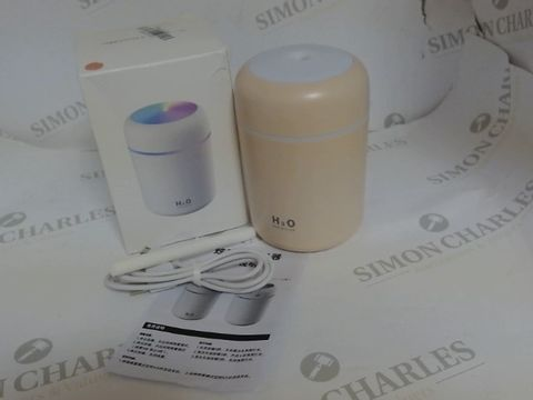 Lot 3531 USB COLOURFUL HUMIDIFIER PEACH