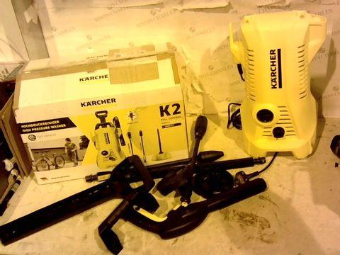 Lot 12357 KARCHER K2 FULL CONTROL PRESSURE WASHER