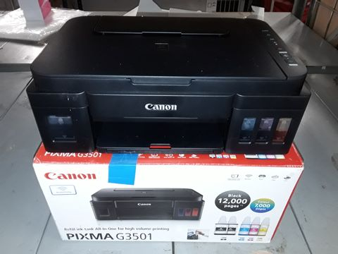 Lot 5009 CANON G3501 HIGH CAPACITY INKJET PRINTER