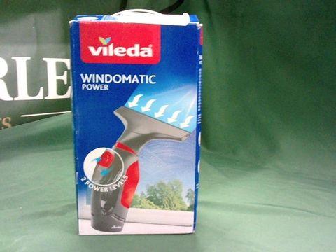 Lot 4012 VILEDA WINDOMATIC POWER WINDOW VACUUM CLEANER, UK VERSION