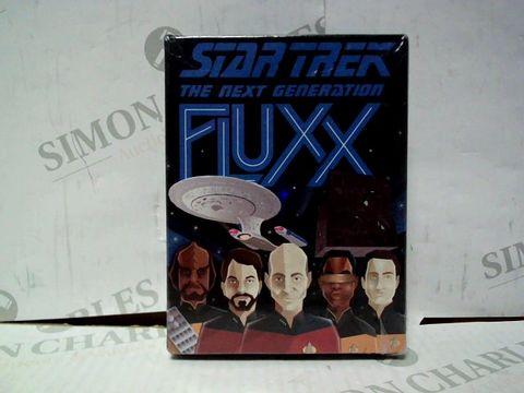 Lot 7369 BRAND NEW AND SEALED STAR TREK THE NEXT GENERATION FLUXX
