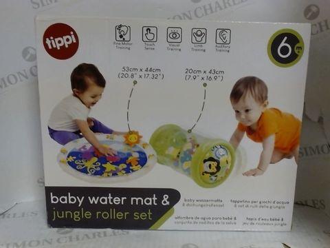 Lot 7018 BABY WATER MAT & JUNGLE ROLLER SET