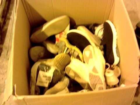 Lot 11280 BOX OF LARGE QUANTITY OF ASSORTED FOOTWEAR TO INCLUDE SKECHERS, VIONIC, EARTH SPIRIT ETC.