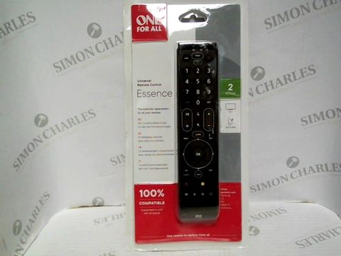 Lot 7517 ONE FOR ALL UNIVERSAL REMOTE CONTOUR