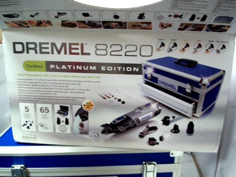 Lot 10301 DREMEL 8220 CORDLESS PLATINUM EDITION ROTARY TOOL