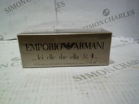 Lot 8090 BRAND NEW AND SEALED EMPORIO ARMANI FOR HER EDP 50ML