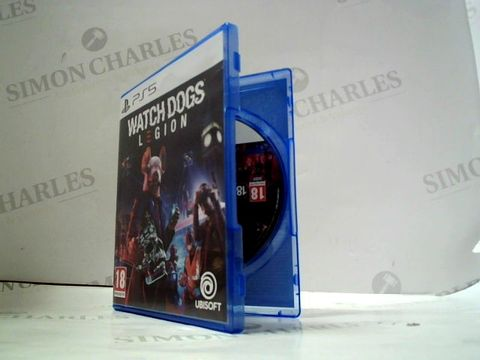 Lot 4066 WATCHDOGS LEGION FOR PS5 RRP £70.00