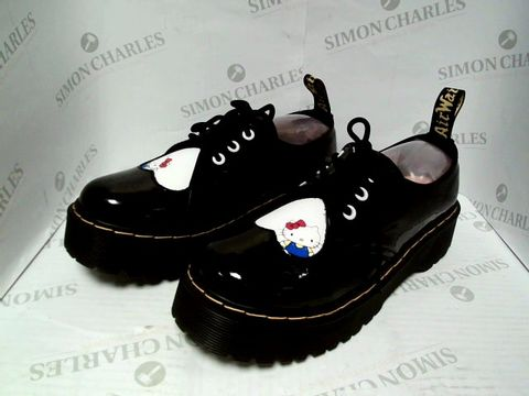Lot 1047 DR. MARTENS HELLO KITTY SHOES - UK SIZE 8