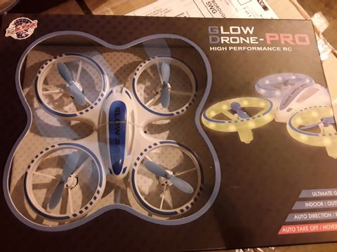 Lot 3528 GLOW DRONE PRO HIGH PERFORMANCE RC