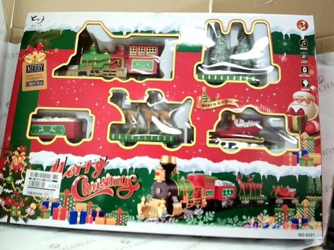 Lot 7415 Elf Train Set With Lights And Music RRP £56.99