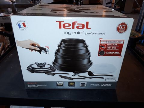 Lot 304 TEFAL INGENIO COOKWARE SET