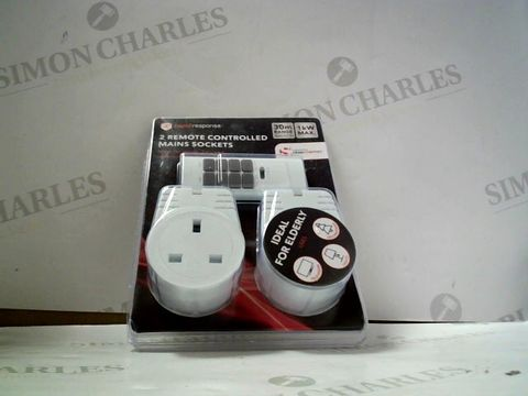 Lot 8108 RAPID RESPONSE 2 REMOTE CONTROLLED MAINS SOCKETS