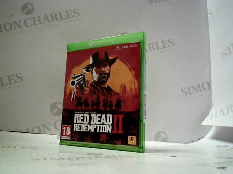 Lot 4063 RED DEAD REDEMPTION II FOR XBOX ONE  RRP £80.00